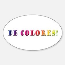 DeColores! Oval Decal