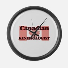 Canadian Kinesiologist Large Wall Clock