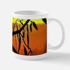 Sunset Kookaburra Silhouette Mugs
