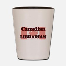 Canadian Librarian Shot Glass