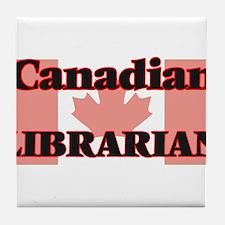 Canadian Librarian Tile Coaster
