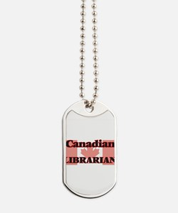 Canadian Librarian Dog Tags