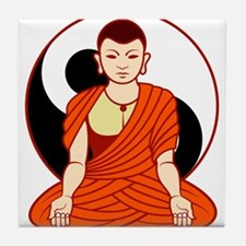 Dao monk Tile Coaster