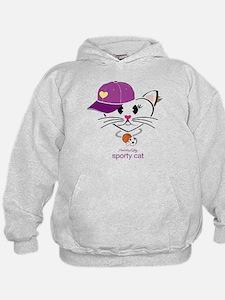 Sporty Cat Hoodie