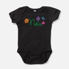 Funny Girly girl Baby Bodysuit