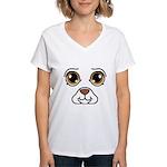 Dog Costume Women's V-Neck T-Shirt