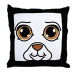 Dog Costume Throw Pillow