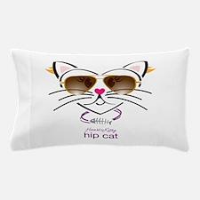Hip Cat Pillow Case