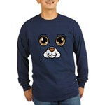 Dog Costume Long Sleeve Dark T-Shirt