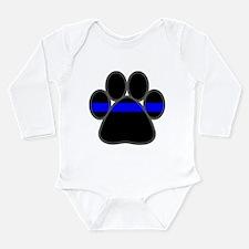 Cool K9 officer Long Sleeve Infant Bodysuit