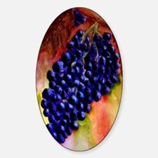 """""""Tuscan Cluster"""" Oval Decal"""