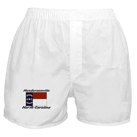 Hendersonville North Carolina Boxer Shorts