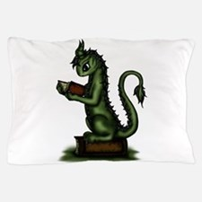 Bookworm Dragon Pillow Case