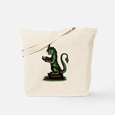 Bookworm Dragon Tote Bag