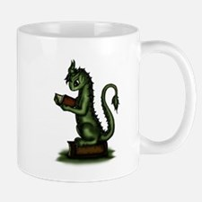 Bookworm Dragon Mugs
