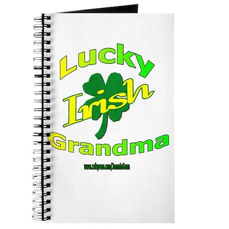 LUCKY IRISH GRANDMA Journal