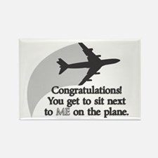 Airplane Ride Rectangle Magnet