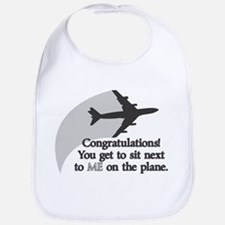Airplane Ride Funny Baby Bib