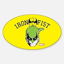Iron Fist Head Decal