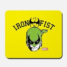 Iron Fist Head Mousepad