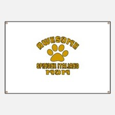 Awesome Spinone Italiano Mom Dog Designs Banner