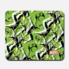 Iron Fist Pattern Mousepad
