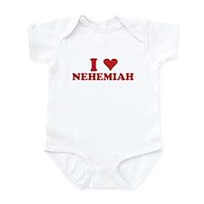 I LOVE NEHEMIAH Onesie