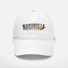 Nashville Music City-04-CM Baseball Baseball Cap