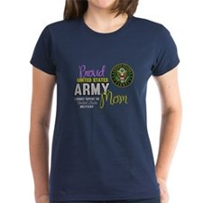 Proud Army Mom Seal T-Shirt