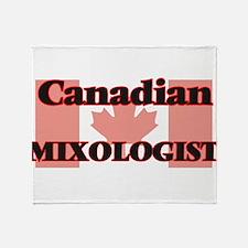 Canadian Mixologist Throw Blanket