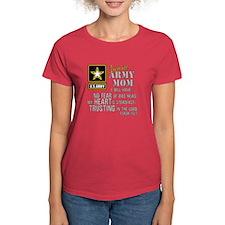 I am an Army Mom No Fear T-Shirt