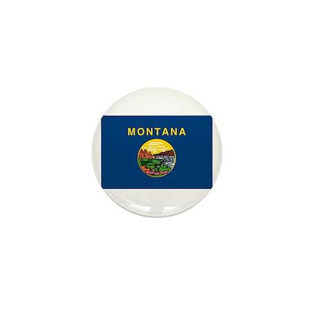 Montana Flag Mini Button (100 pack)