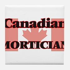Canadian Mortician Tile Coaster