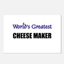 Worlds Greatest CHEESE MAKER Postcards (Package of