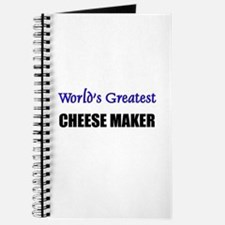 Worlds Greatest CHEESE MAKER Journal