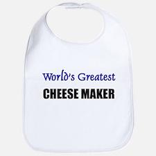 Worlds Greatest CHEESE MAKER Bib
