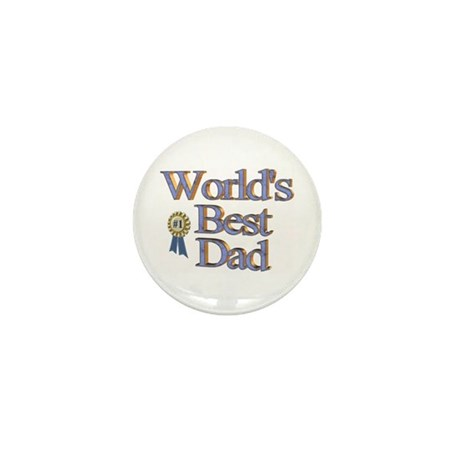 World's Best Dad! Mini Button (10 pack)