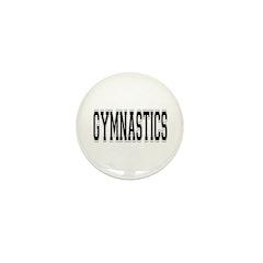 Gymnastics Mini Button (10 pack)