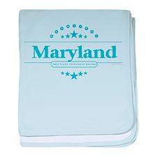 Maryland baby blanket