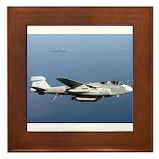 EA-6B Prowler Framed Tile