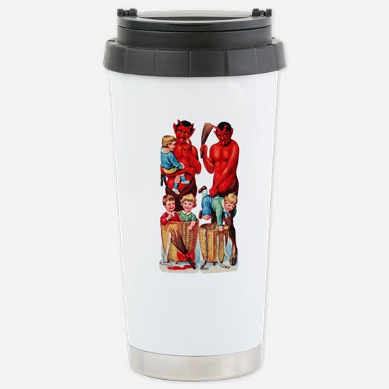 Krampus 010 Stainless Steel Travel Mug
