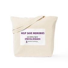 Help Save Memories Tote Bag