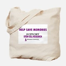 Help Save Memories Tote Bag
