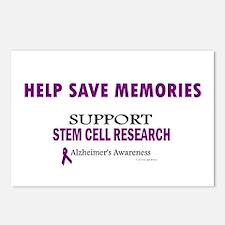 Help Save Memories Postcards (Package of 8)