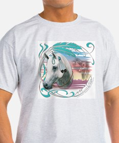 Cute Horse feathers T-Shirt