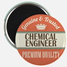 chemical engineer vintage logo Magnet