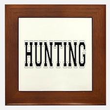 Hunting Framed Tile