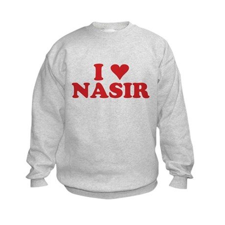 I LOVE NASIR Kids Sweatshirt