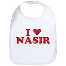 I LOVE NASIR Bib