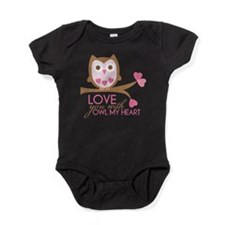 Unique Vday Baby Bodysuit